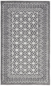 Nourison Royal Moroccan RYM02 Charcoal/Silver Area Rug