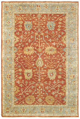 Tommy Bahama Palace 10306 Red Area Rug by Oriental Weavers