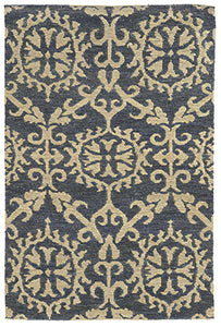 Tommy Bahama Valencia 57704 Navy Area Rug by Oriental Weavers