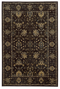 Tommy Bahama Vintage 534N5 Brown Area Rug by Oriental Weavers