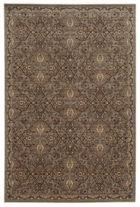 Tommy Bahama Vintage 5509D Brown Area Rug by Oriental Weavers