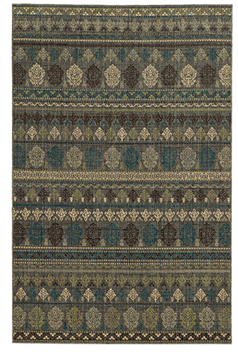 Tommy Bahama Vintage 59100 Blue Area Rug by Oriental Weavers