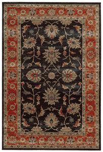Tommy Bahama Vintage 634N2 Brown Area Rug by Oriental Weavers