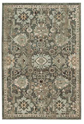 Tommy Bahama Vintage 668N2 Blue Area Rug by Oriental Weavers