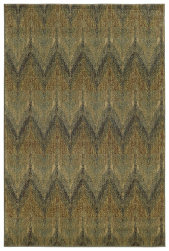 Tommy Bahama Voyage 508X0 Blue Area Rug by Oriental Weavers