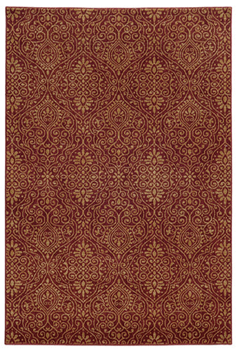 Tommy Bahama Voyage 091R0 Red Area Rug by Oriental Weavers