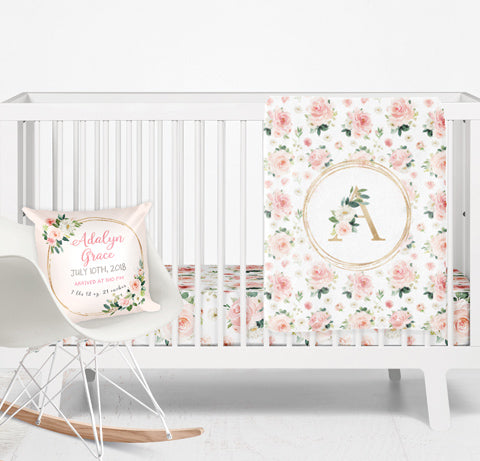 Blush Florals Nursery Collection