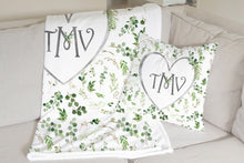 Load image into Gallery viewer, Monogram Pillow - Greenery Collection