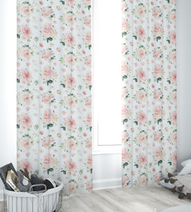 Nursery Curtains -Blush Florals Collection