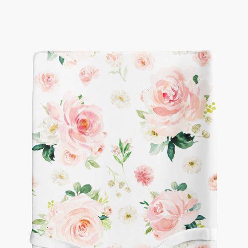 Changing pad cover - Blush Florals Collection