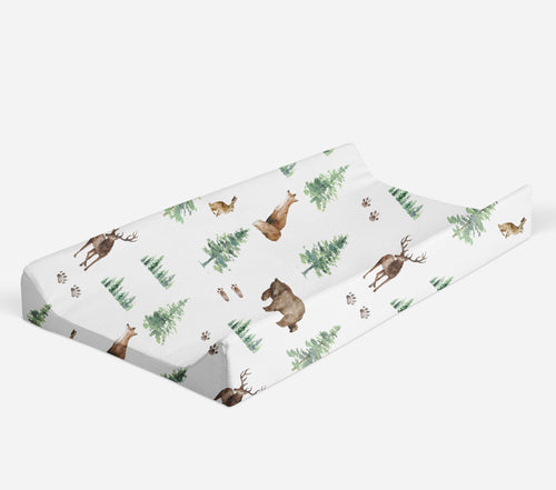 Changing pad cover - Forest Animals Collection