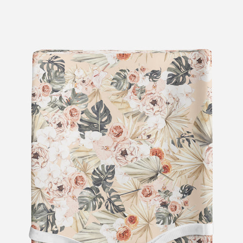 Changing pad cover - Modern Tropics Collection