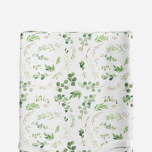 Load image into Gallery viewer, Changing pad cover - Greenery Collection