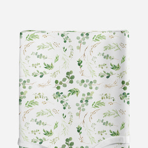 Changing pad cover - Greenery Collection