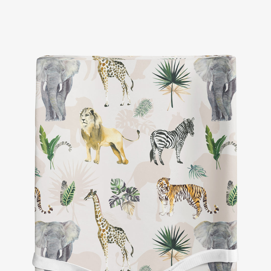 Changing pad cover - Safari Animals Collection
