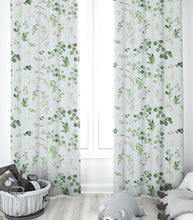Load image into Gallery viewer, Nursery Curtains - Greenery Collection