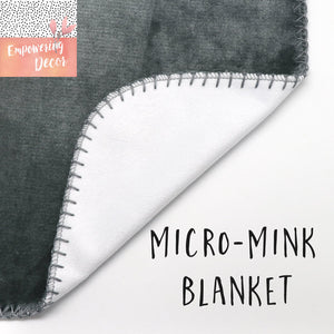 Milestone Baby Girl Blanket - Maroon Dream collection
