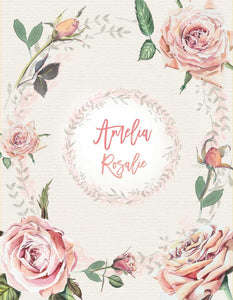 Custom Duvet Cover for girl - Vintage Roses Collection