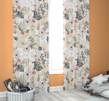 Load image into Gallery viewer, Nursery Curtains - Modern Tropics Collection