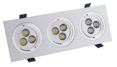 Empotrable Led alu new 3x3W