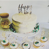 Oh Baby! Happy Pushing Cake Topper - The Pretty Prop Shop Parties, Auckland New Zealand