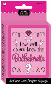 How Well Do You Know The Bachelorette Bridal Shower Game - The Pretty Prop Shop Parties, Auckland New Zealand