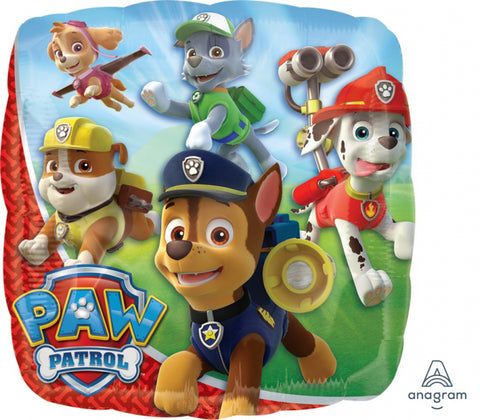 Paw Patrol Foil Balloon - The Pretty Prop Shop Parties, Auckland New Zealand