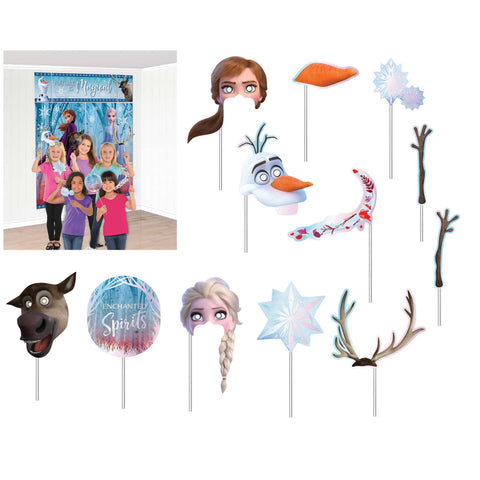 Frozen 2 Scene Setter with Photo Props - The Pretty Prop Shop Parties, Auckland New Zealand