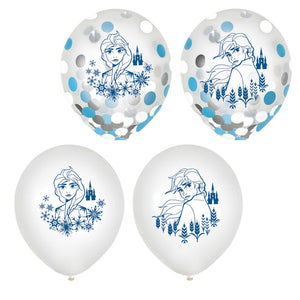 Frozen 2 Confetti Filled Balloons - The Pretty Prop Shop Parties, Auckland New Zealand