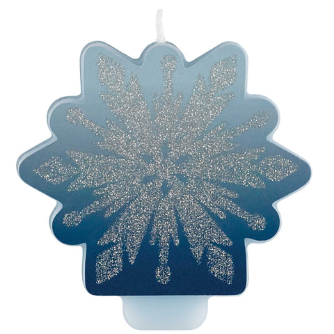 Frozen 2 Glittered Candle - The Pretty Prop Shop Parties, Auckland New Zealand