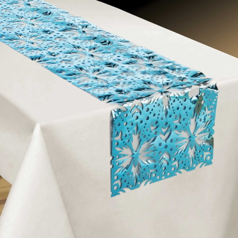 Frozen 2 Foil Table Runner - The Pretty Prop Shop Parties, Auckland New Zealand