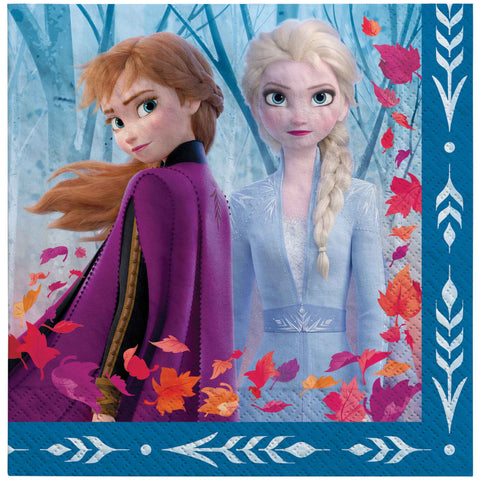 Frozen 2 Lunch Napkins - The Pretty Prop Shop Parties, Auckland New Zealand