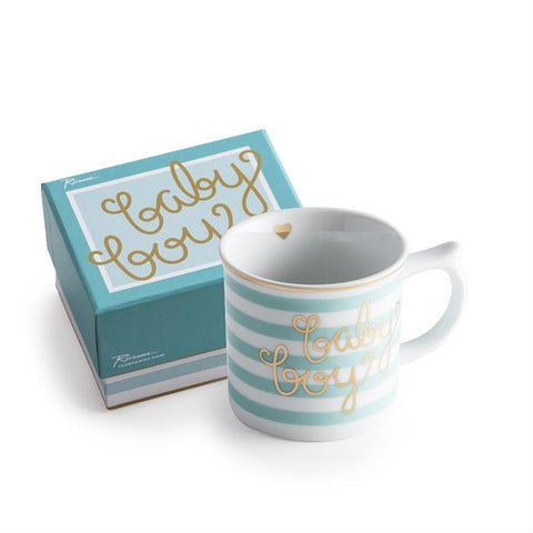 Oh Baby! Baby Boy Mug - The Pretty Prop Shop Parties, Auckland New Zealand