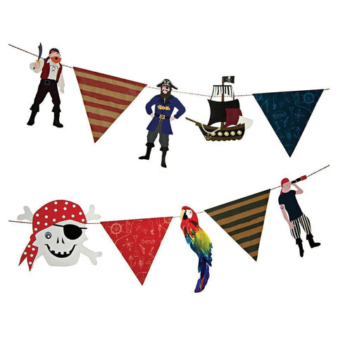 Ahoy There Pirate Party Garland - The Pretty Prop Shop Parties, Auckland New Zealand