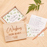 Baby Shower Advice Cards with Keepsake Box - Botanical Baby