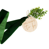 Mummy To Be Wooden Sash - Botanical Baby