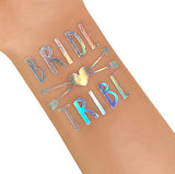 Hen's Party Temporary Tattoo - Iridescent - The Pretty Prop Shop Parties, Auckland New Zealand
