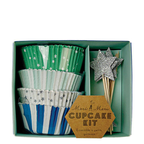 Blue Star Cupcake Kit - The Pretty Prop Shop Parties, Auckland New Zealand
