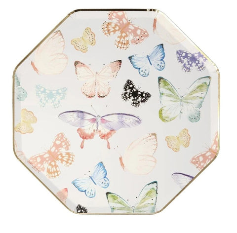 Butterfly Dinner Plates - The Pretty Prop Shop Parties, Auckland New Zealand