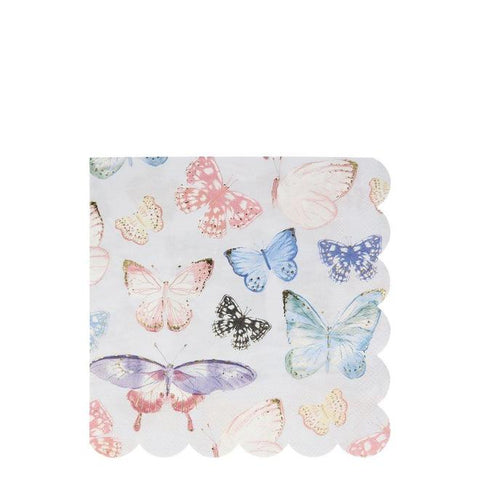 Butterfly Large Napkins - The Pretty Prop Shop Parties, Auckland New Zealand