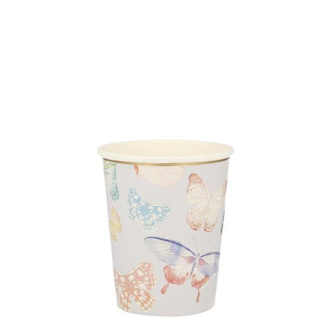 Butterfly Party Cups - The Pretty Prop Shop Parties, Auckland New Zealand