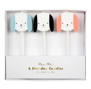 Dog Candles - The Pretty Prop Shop Parties, Auckland New Zealand