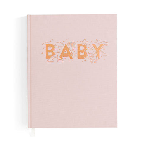 Baby Book Blush (Girls) - The Pretty Prop Shop Parties, Auckland New Zealand