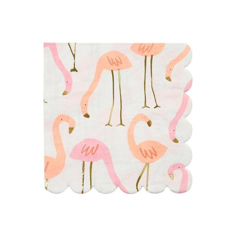 Flamingo Napkins - The Pretty Prop Shop Parties, Auckland New Zealand