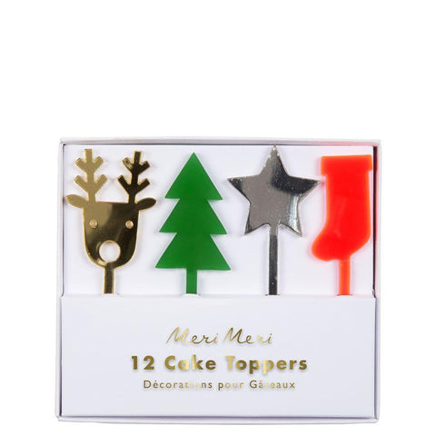 Festive Acrylic Cake Toppers - The Pretty Prop Shop Parties, Auckland New Zealand