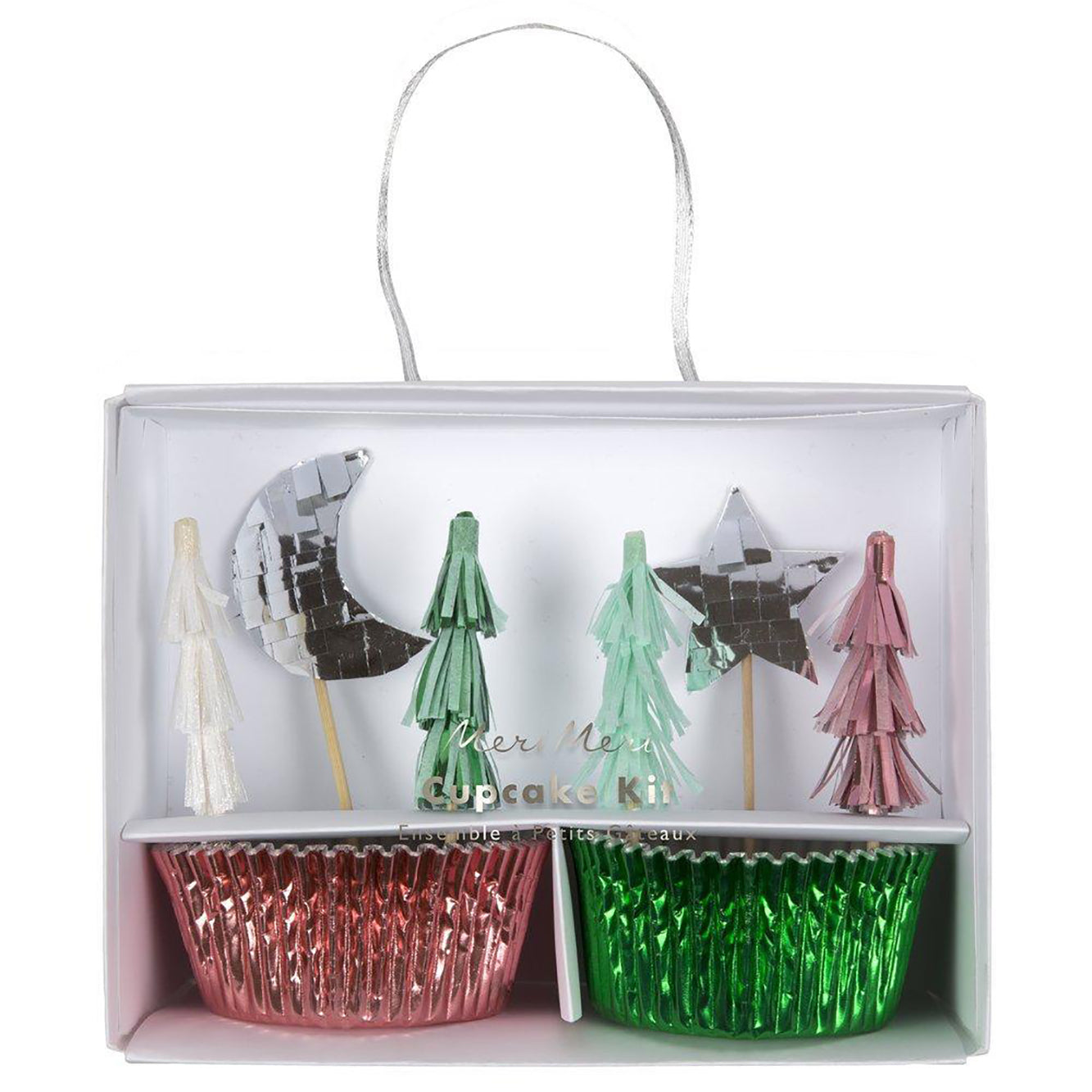 Festive Tree Cupcake Kit - The Pretty Prop Shop Parties, Auckland New Zealand