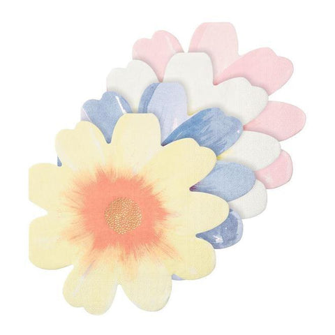 Flower Garden Napkins - The Pretty Prop Shop Parties, Auckland New Zealand