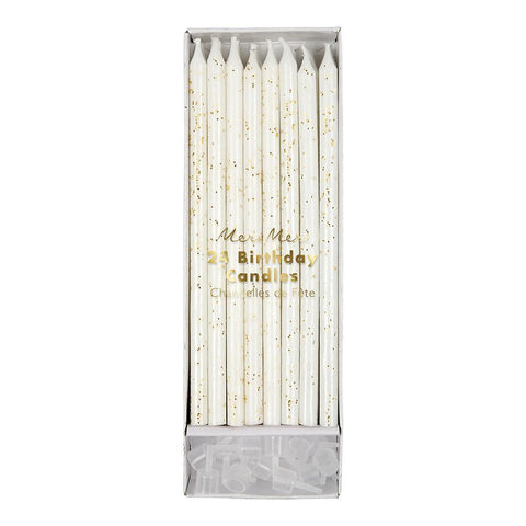 Glitter Candles - Gold - The Pretty Prop Shop Parties, Auckland New Zealand