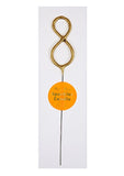 Gold Sparkler Number Wonder Candle - The Pretty Prop Shop Parties, Auckland New Zealand