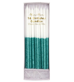 Glitter Dipped Candles - Assorted Colours - The Pretty Prop Shop Parties, Auckland New Zealand